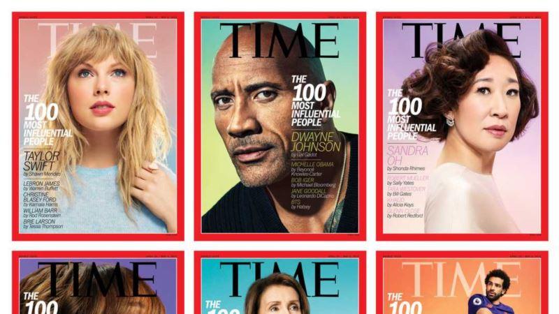 Путин снова не попал в список самых влиятельных людей по версии Time