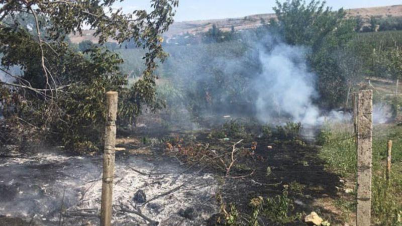 За сутки в Крыму произошло два пожара в природной среде – МЧС