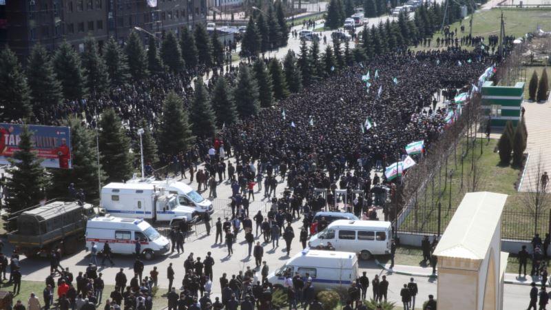 В Ингушетии продолжаются задержания участников протестов