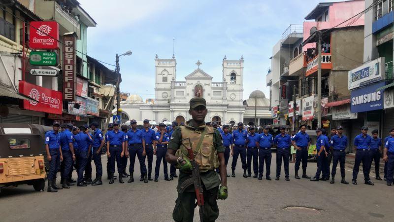 Шри-Ланка: жертвами взрывов в храмах и отелях стали более 100 человек