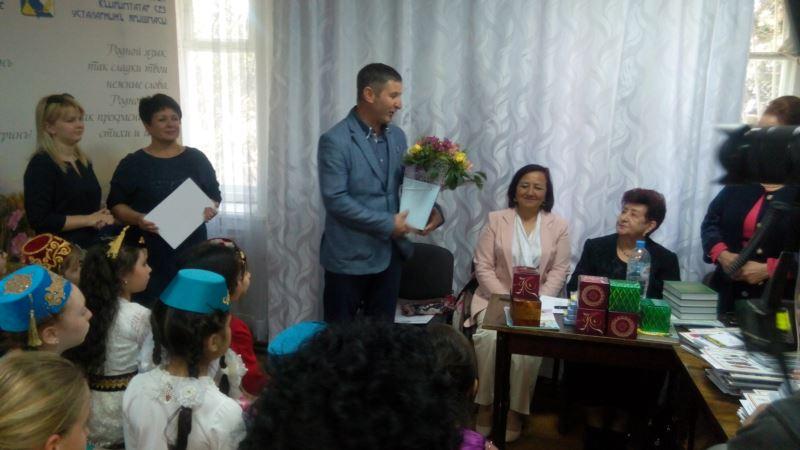 В Севастополе прошел детский конкурс чтецов на крымскотатарском языке (+фото)