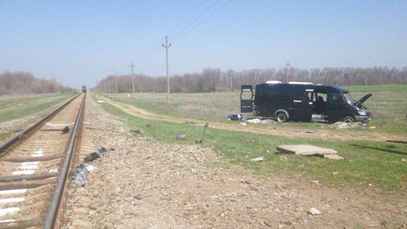 В Крыму направили в суд дело о гибели 5 человек в столкновении автобуса с локомотивом