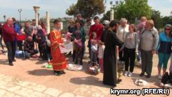 Празднование Пасхи в Севастополе