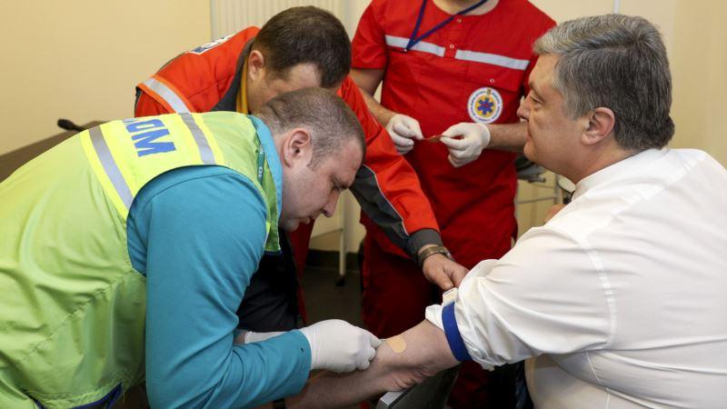 Медик рассказал о первых результатах анализов Порошенко