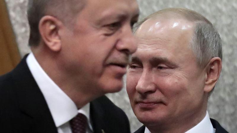 Эрдоган проведет переговоры с Путиным в Москве