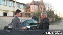 Сергей Ивашковский показал журналистам имение, которое продал в прошлом году