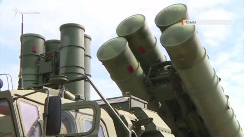 «Триумф» Минобороны: российские ракеты в Крыму (видео)