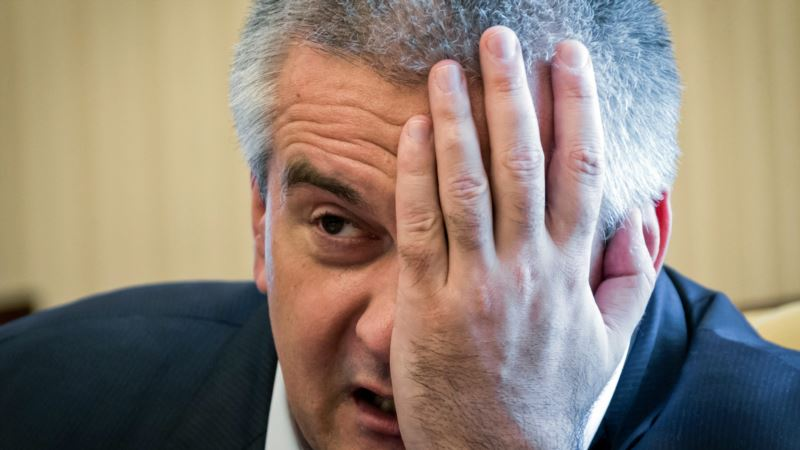 «Имитация бурной деятельности». Аксенов недоволен властями Ялты после 6-часового совещания