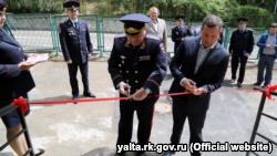 В Форосе открыли участковый пункт российской полиции (+фото)