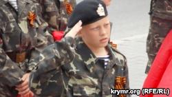В Севастополе дети в военной форме поклялись «на верность Родине» (+фото)