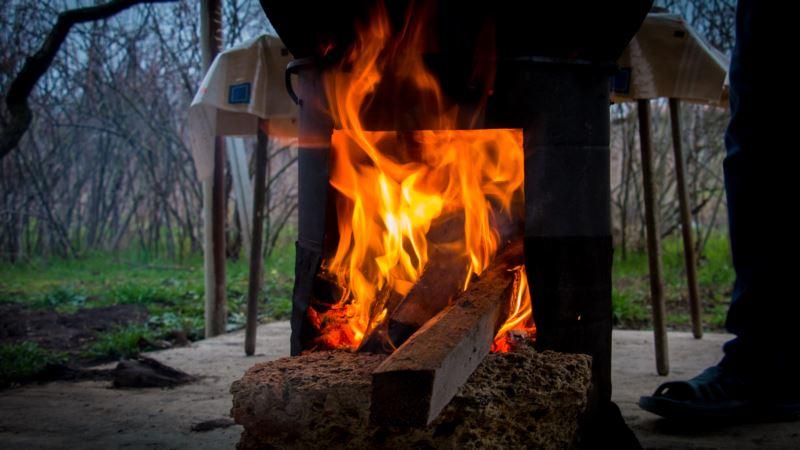 В Крыму продлили запрет на разведение костров из-за риска пожаров