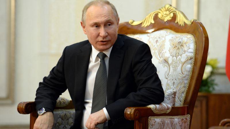 Кремль: корпорация BBC не просила разрешения на использование изображения Путина в новом шоу