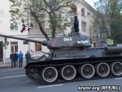 Российская военная техника в Севастополе