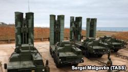 Российская ракетная система С-400 под Севастополем. Архивное фото