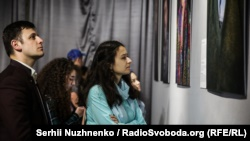 Посетители выставки в Киеве