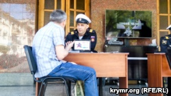 В Севастополе на праздновании Дня Черноморского флота агитировали служить в российской армии (+фото)
