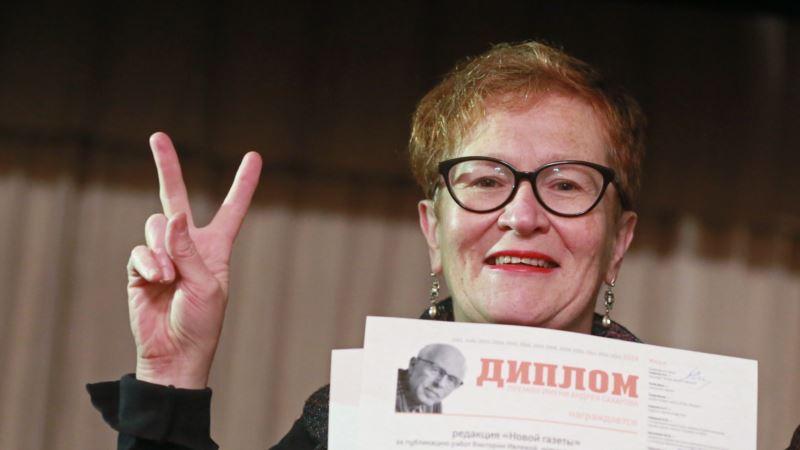 Россия: Лауреата World Press Photo задержали на одиночном пикете в Москве
