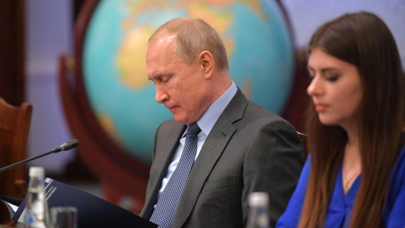Рейтинг доверия россиян Владимиру Путину обновил исторический минимум