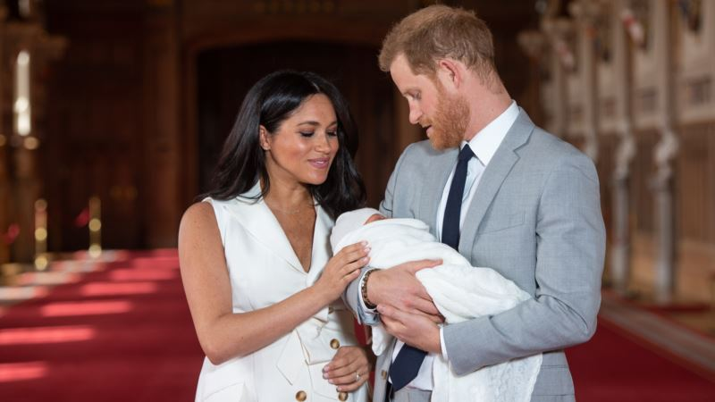 Стало известно имя первенца принца Гарри и Меган Маркл