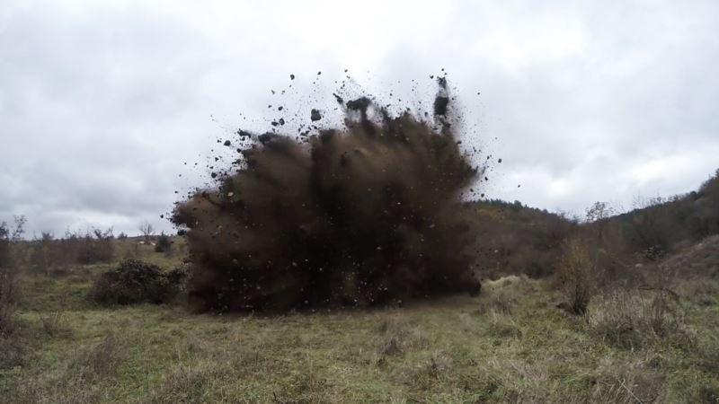 Российские военные нанесли бомбовые удары на полигоне в Крыму – командование