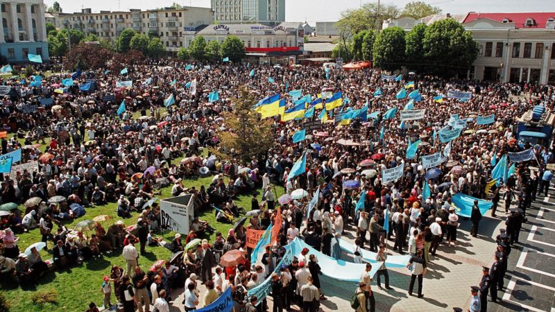 Митинги, шествия и молитвы. Как вспоминали о депортации крымских татар до аннексии полуострова (фотогалерея)