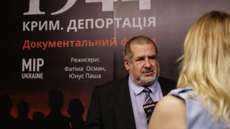 Чубаров: 1944 год для крымских татар возобновился после аннексии Россией Крыма