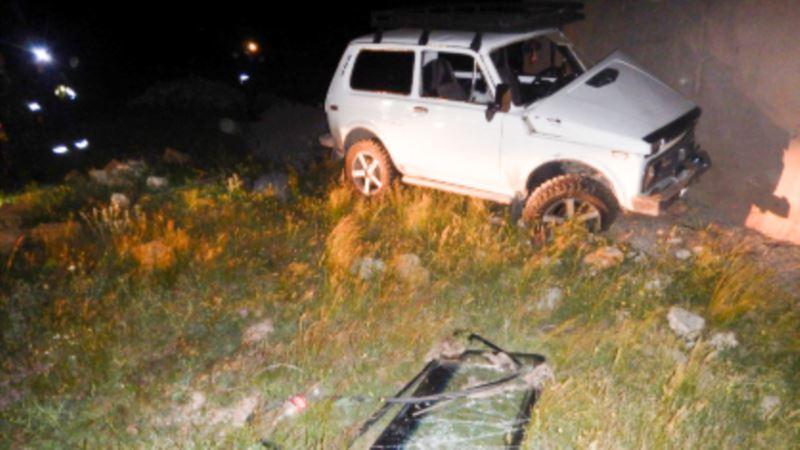 В Крыму Следком проверяет гибель ребенка, оставленного в автомобиле, который скатился с горы