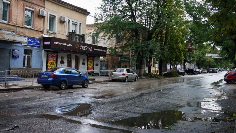 Симферополь после утреннего ливня – (фотогалерея)