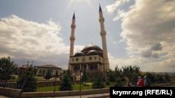 Вид на мечеть