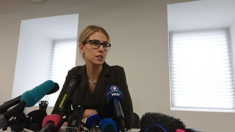 Россия: Любовь Соболь заявила о прекращении голодовки