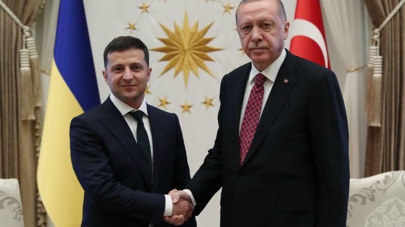 Президент Зеленский – Эрдогану: «Совместными усилиями изменим ситуацию в Крыму в свою пользу»