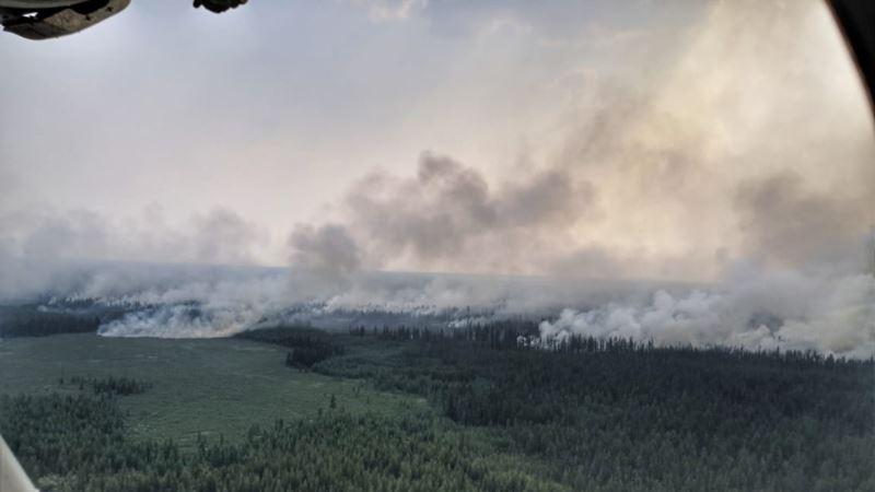 Россия: депутат Госдумы обвинил в пожарах и паводках в Сибири власти США