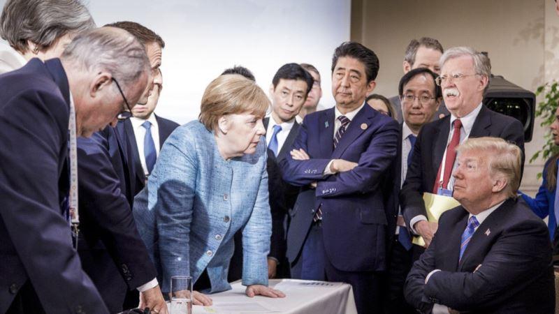 Правительство Германии отвергло предложение вернуть Россию в G8