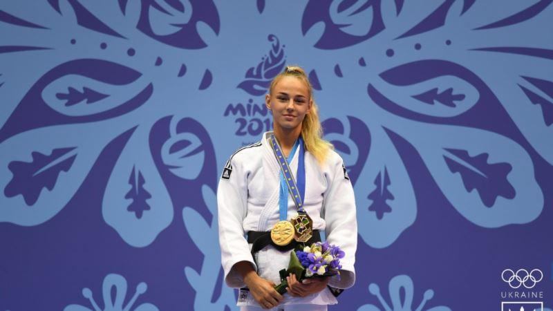 Украинка Дарья Билодид стала двукратной чемпионкой мира по дзюдо