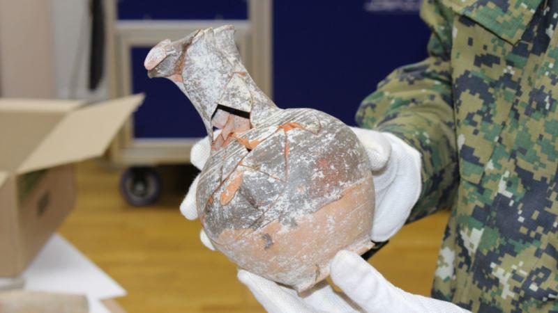 В Севастополе направили в суд дело «черных копателей», нашедших двухтысячелетний кувшин – Следком (+фото)