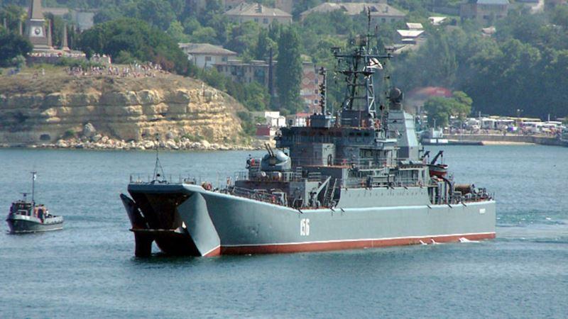 InformNapalm обнародовал доказательства участия российского корабля «Ямал» в захвате Крыма