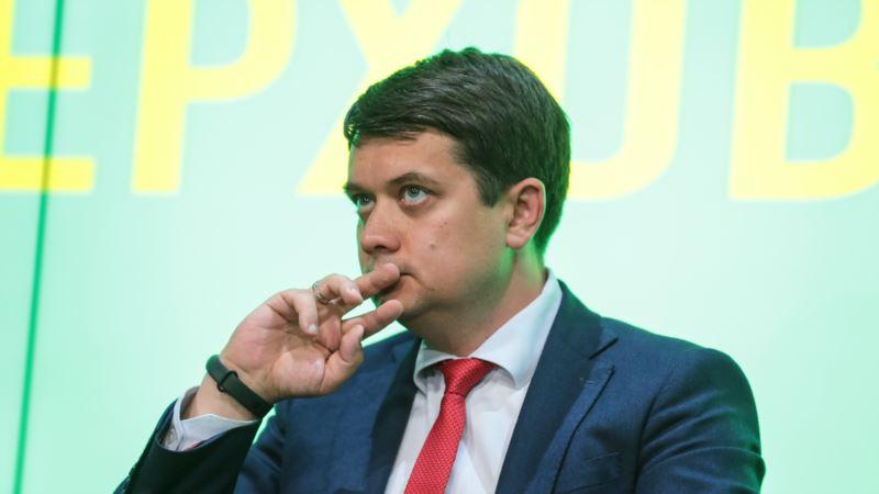 Разумков заявляет, что ему ничего не известно об отставке Богдана с должности главы Офиса президента Украины