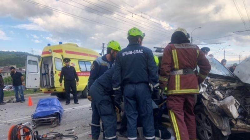 ДТП в Крыму: за неделю четверо человек погибли, 18 – удалось спасти – МЧС