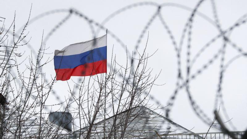 Киев: возле посольства России прошла акция в поддержку захваченных ФСБ украинских моряков