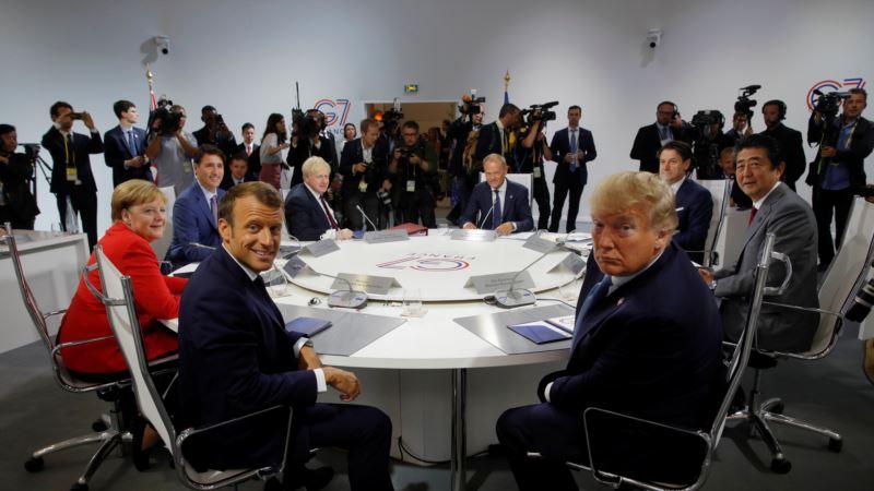 В ЕС рассказали о трудностях обсуждения идеи Трампа вернуть Россию в «Группу семи»