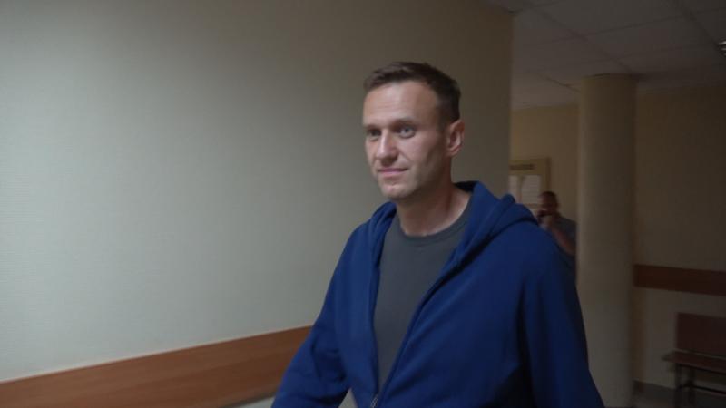 Российский оппозиционер Навальный подал заявление в Следком о своем отравлении в спецприемнике