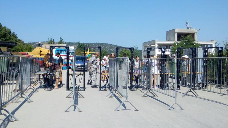 В Севастополе на фестиваль экстремалов пропускали через металлоискатели казаки (+фото)