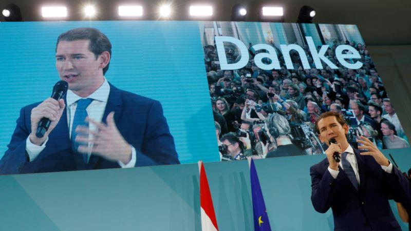 На парламентских выборах в Австрии победила партия бывшего канцлера Курца