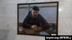 Портрет убитого в 2015 году боевика «ЛНР» Алексея Мозгового