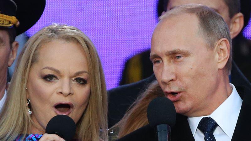 У Ларисы Долиной прокомментировали ее выступление в Крыму