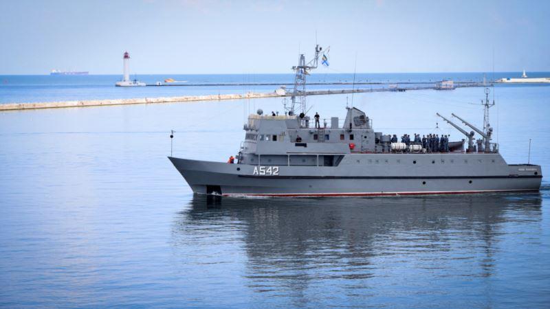 ВМС Украины проводят учения в Черном море