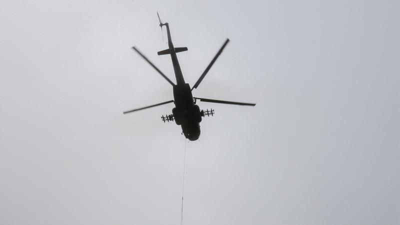 В России разбился военный вертолет Ми-8 – СМИ