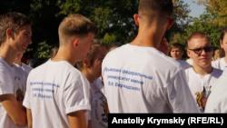 Студенты КФУ встрелили учебный год под лозунгом «Начинай ярко!» (+фото)