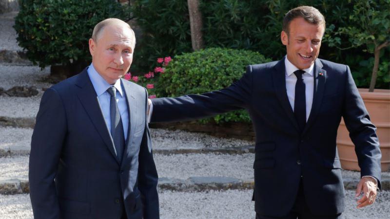 Макрон и Путин считают возможным провести встречу в нормандском формате «через несколько недель»