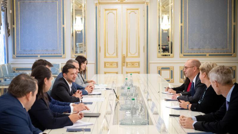Президент Зеленский встретился с представителями миссии МВФ
